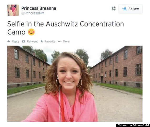 Breanna Mitchell's Smiling Auschwitz Selfie May Be Bad Taste, But The Backlash Is Far Worse