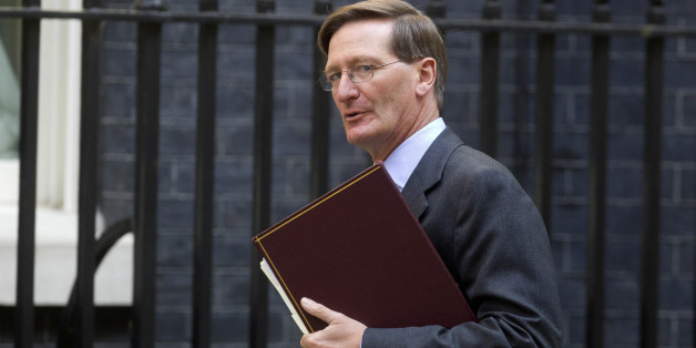 Attorney General Dominic Grieve QC arrives at 10 Downing Street, central London.