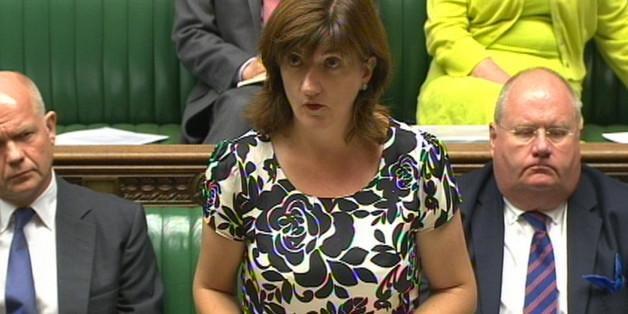 "Education Secretary Nicky Morgan tells MPs that Peter Clarke's findings into the Trojan Horse allegations are ""disturbing"" and show evidence of a determined effort to gain control of a small number of Birmingham schools, in the House of Commons, London."