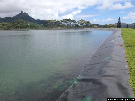 waimanalo reservoir full