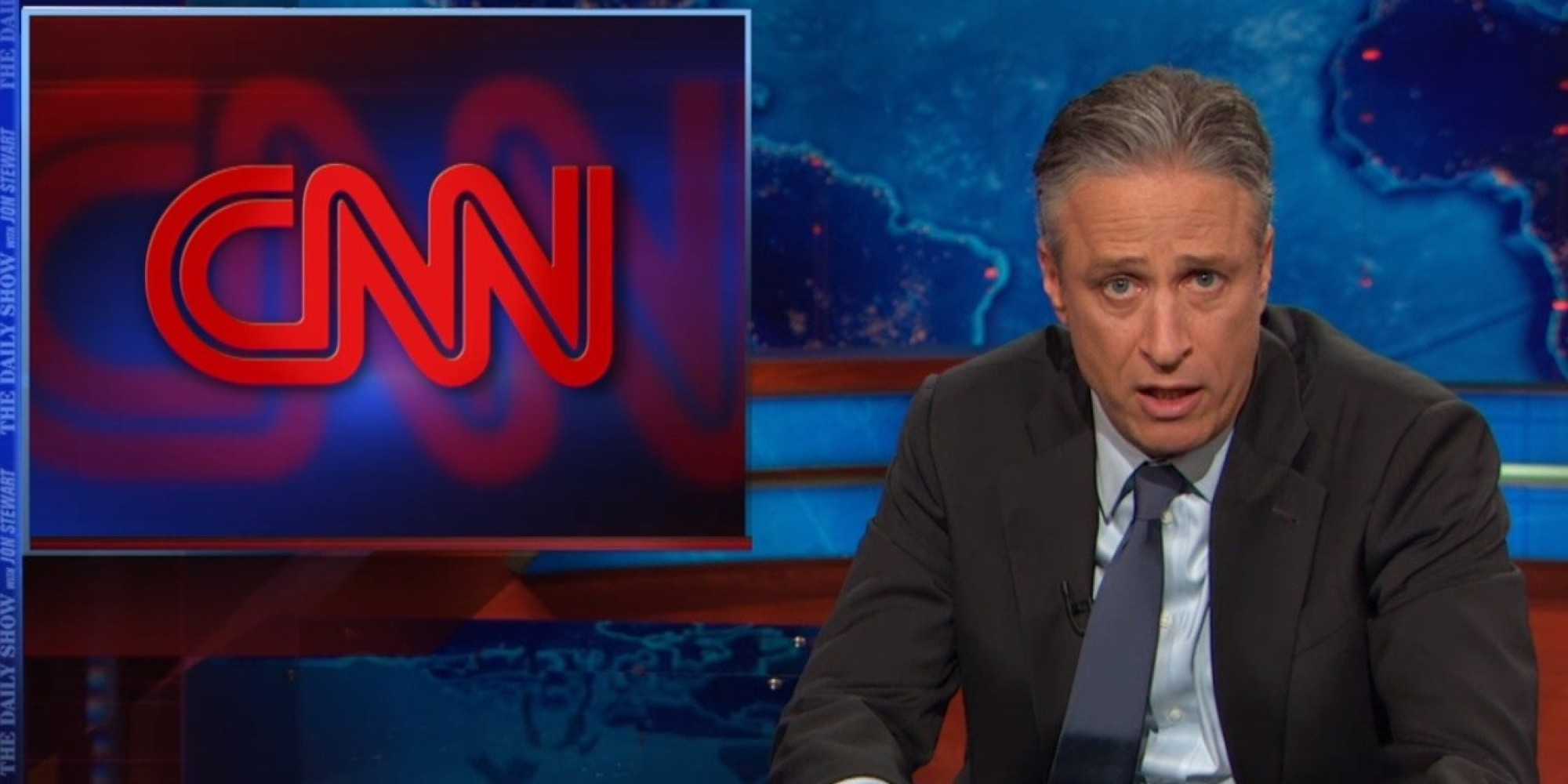 Jon Stewart Wants You To Help Him Buy CNN | HuffPost