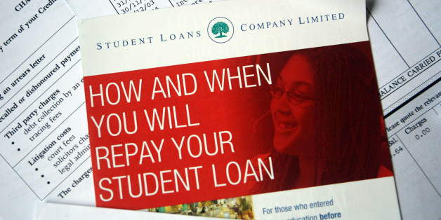Bills and leaflets from Student Loans Company Limited.