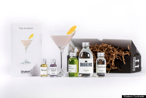 shaken cocktails