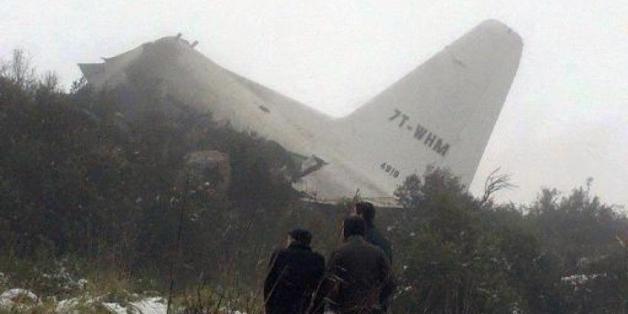 Une partie de la carlingue d'un Hercules C-130 qui s'est écrasé en Algérie, le 11 février 2014 (Image d'illustration)