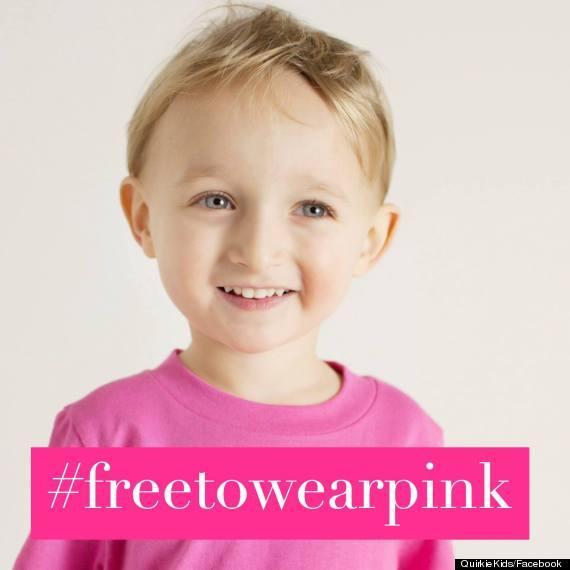 free to wear pink