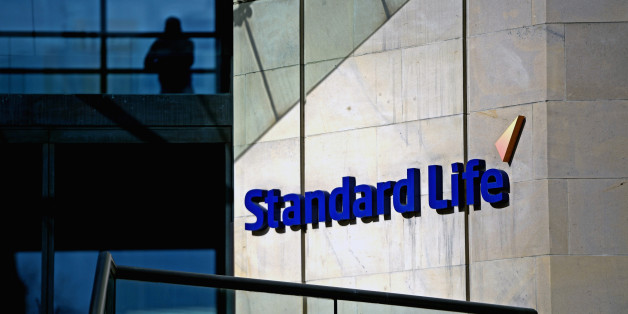 EDINBURGH, SCOTLAND - MARCH 04:  The Standard Life House logo is displayed on March 4, 2014 in Edinburgh, Scotland. Edinburgh based pensions and savings firm Standard Life has announced that it is making contingency plans to move its business from Scotland if there is a Yes vote in the independence referendum in September.  (Photo by Jeff J Mitchell/Getty Images)