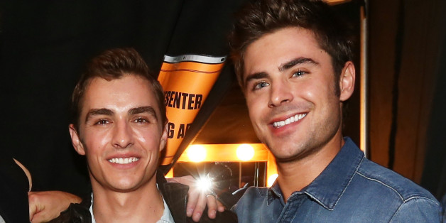 James franco congratulates dave franco on dating zac efron in christopher polk via getty images m4hsunfo