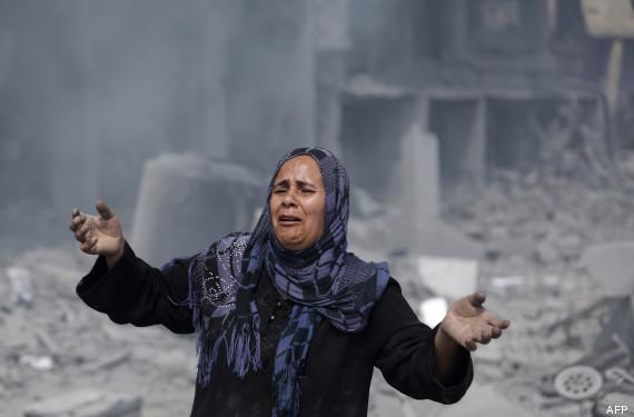 gaza ruines