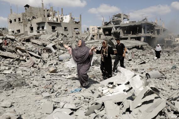 ruines gaza