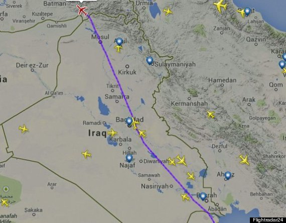 iraqi airspace