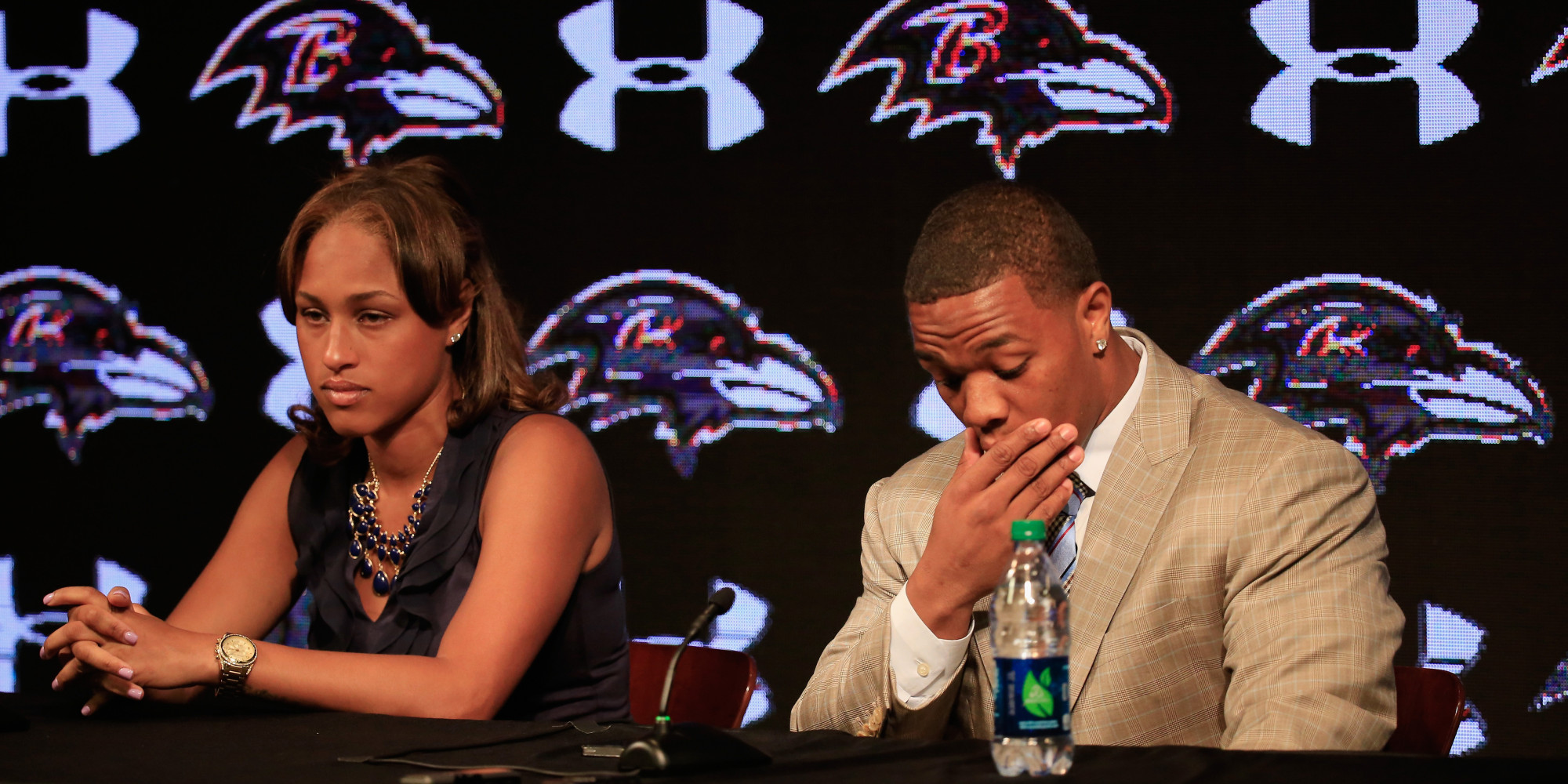 Janay Rice Says NFL's Ray Rice Never Hit Her Before Elevator Assault |  PEOPLE.com