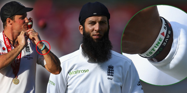SOUTHAMPTON, ENGLAND - JULY 28:  England player Moeen Ali looks on whilst wearing his cap back to front  during day two of the 3rd Investec Test at Ageas Bowl on July 28, 2014 in Southampton, England.  (Photo by Stu Forster/Getty Images)