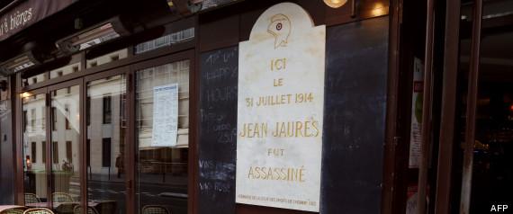 plaque jean jaures cafe croissant