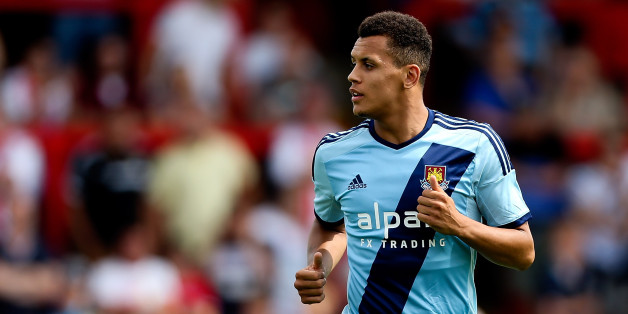 STEVENAGE, ENGLAND - JULY 12: Ravel Morrison of West Ham looks on during the Pre Season Friendly match between Stevenage and West Ham United at The Lamex Stadium on July 12, 2014 in Stevenage, England.  (Photo by Ben Hoskins/Getty Images)