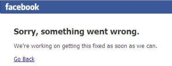 panne facebook