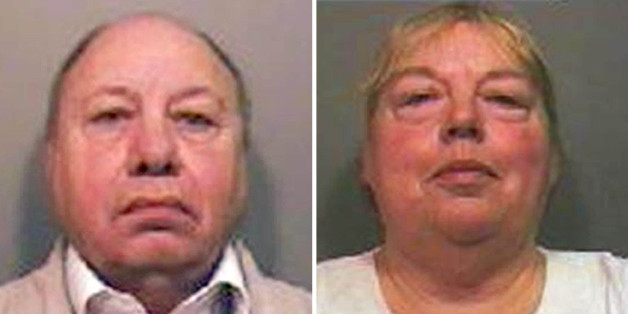 Police handout photos of Samuel Tree and his wife Joan, who are facing jail after being found guilty of making bogus bomb detectors in their garden shed