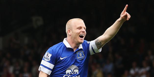 Steven Naismith has won the hearts of Evertonians