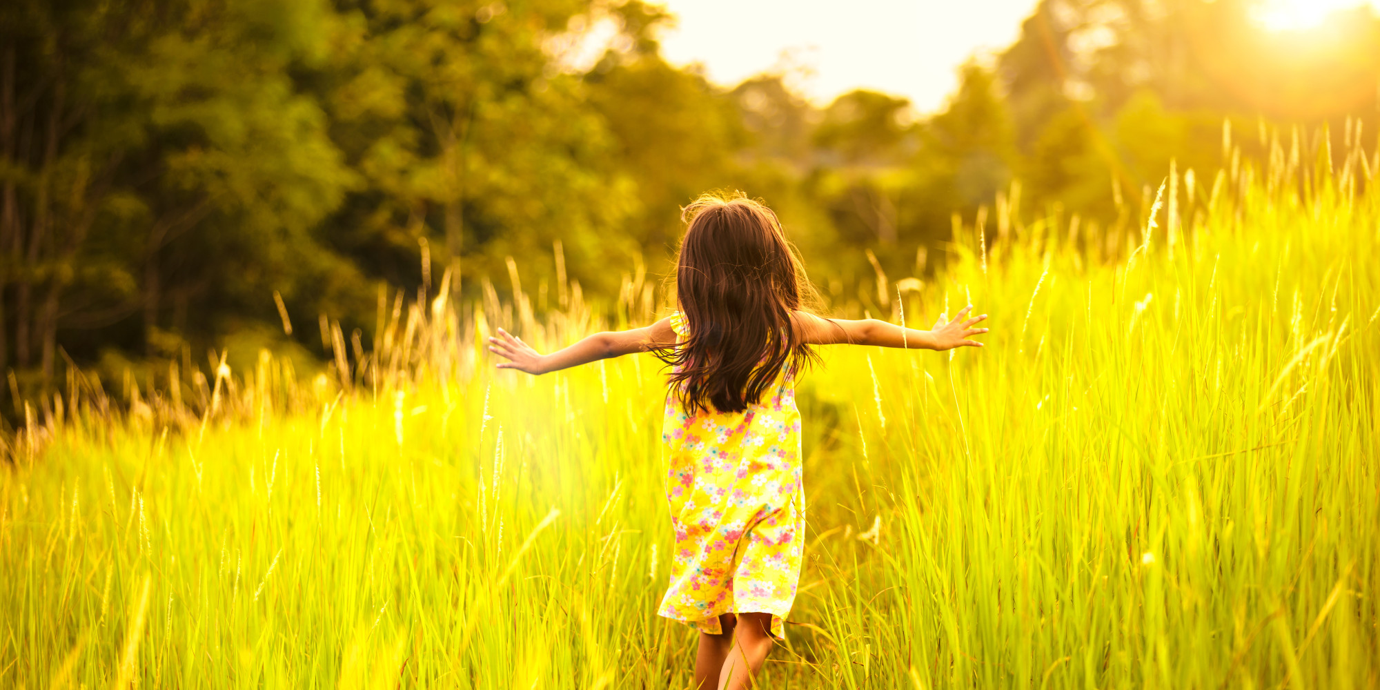 Image result for children running in field gif