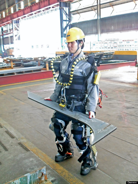 daewoo exoskeleton