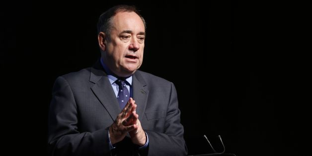 "First Minister Alex Salmond during a ""youth cabinet"" event at the SECC in Glasgow, Scotland."