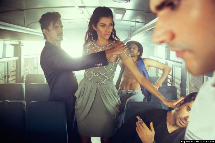 bus photo shoot