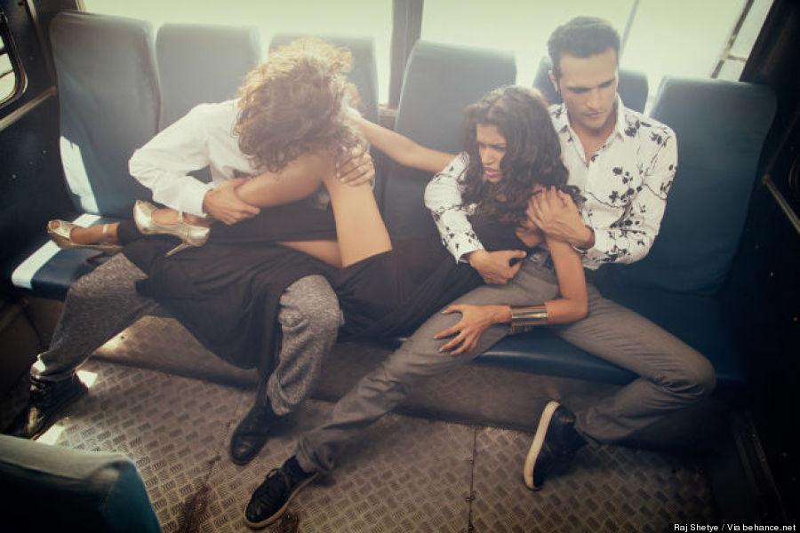 bus photoshoot