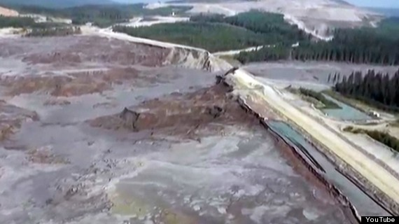 mount polley mine tailings pond