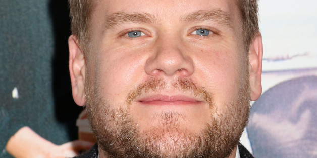 James Corden attends the premiere of 'Begin Again' at the SVA Theatre in New York.