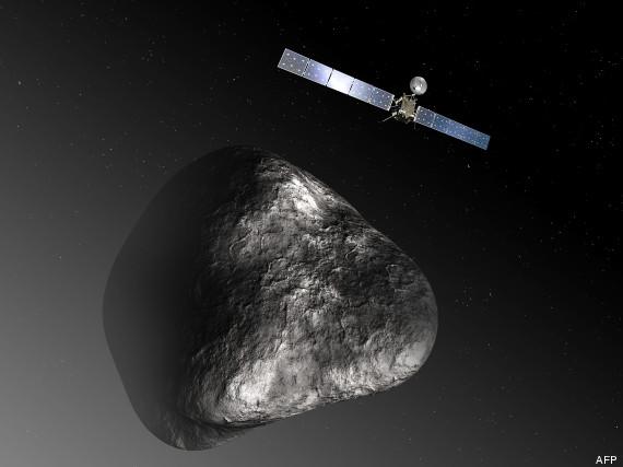 sonde comète