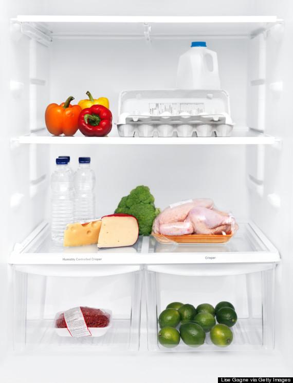 chicken in fridge