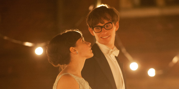 "Eddie Redmayne and Felicity Jones star in ""The Theory of Everything."""