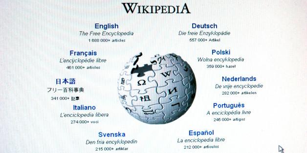 Wikipedia screengrabs