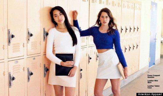 miniskirt american apparel