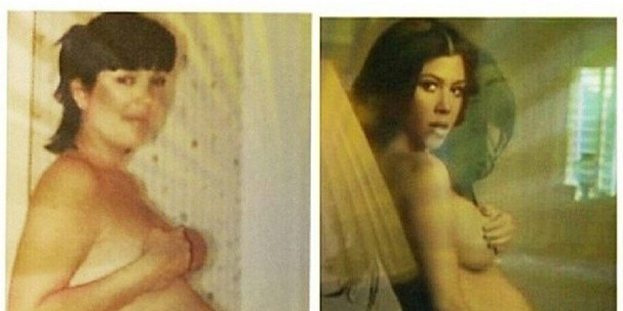 Naked picture of kardashian dather naked — photo 2