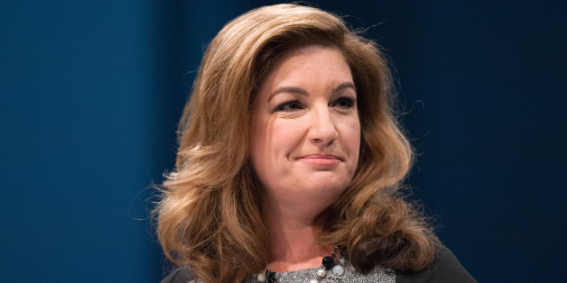 Karren Brady speaks to delegates during the Conservative Conference 2013, held at Manchester Central.