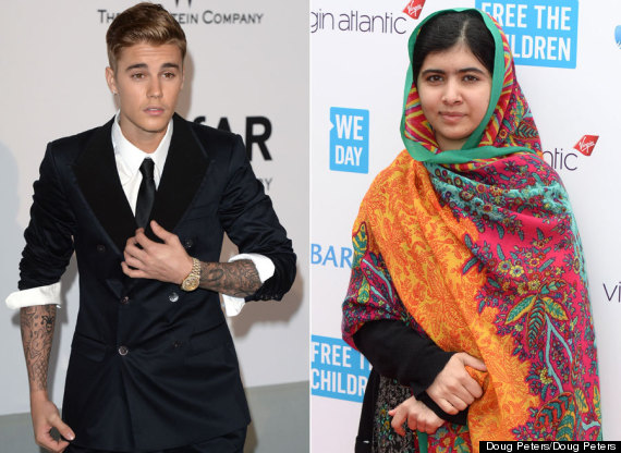 Justin Bieber And Educational Activist Malala Yousafzai FaceTime Each Other (VIDEO)