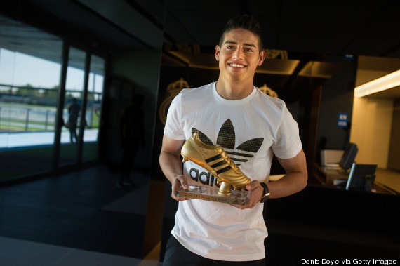 james rodriguez golden boot