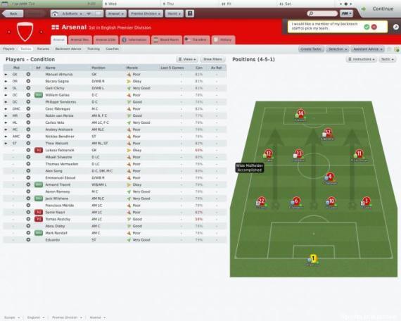 football manager recruteurs