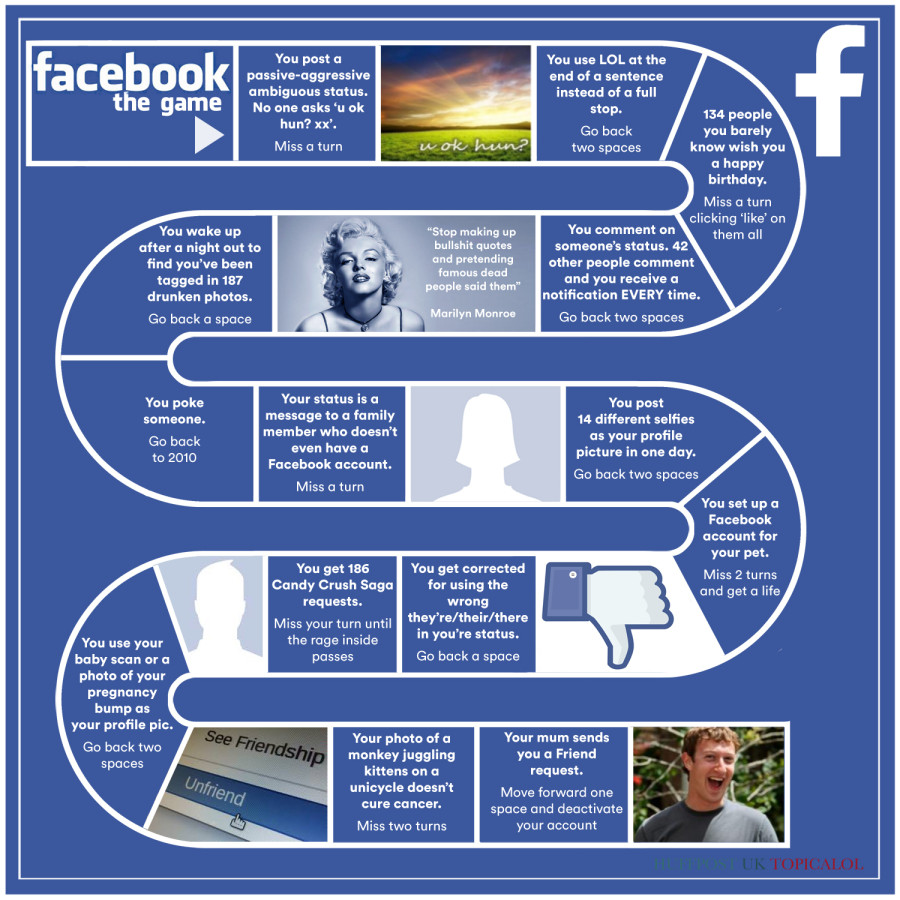 facebook board game