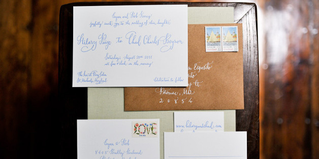Wedding Invitations Really Should Be Addressed By Hand Heres Why