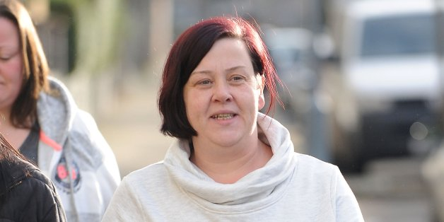 File photo dated 10/1/2014 of benefits Street star White Dee who has refused to comment on claims the Government has axed her £101-a-week employment and support allowance.