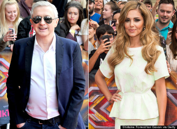 louis walsh cheryl cole
