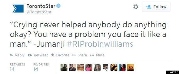 robin williams toronto star