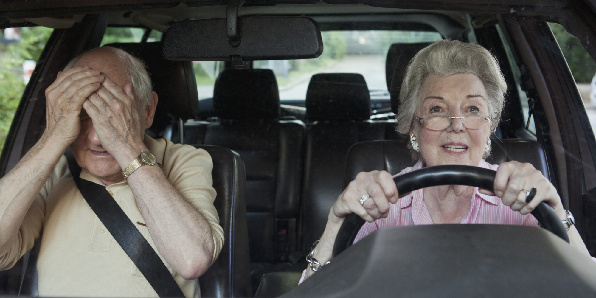 a discussion on the driving testing of senior citizens