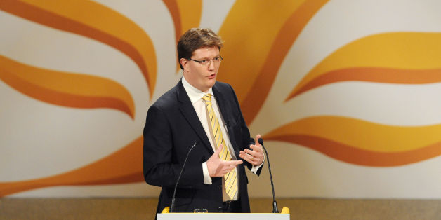 Chief Secretary to the Treasury Danny Alexander speaks during the Liberal Democrat Spring Conference at the Barbican Centre, York.
