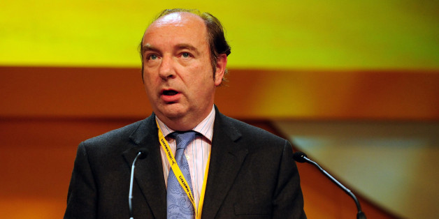 Parliamentary Under Secretary of State for Transport Norman Baker addresses the Lib Dem Annual Conference, at the ICC in Birmingham.