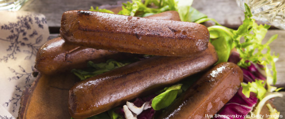 vegan sausages barbecue
