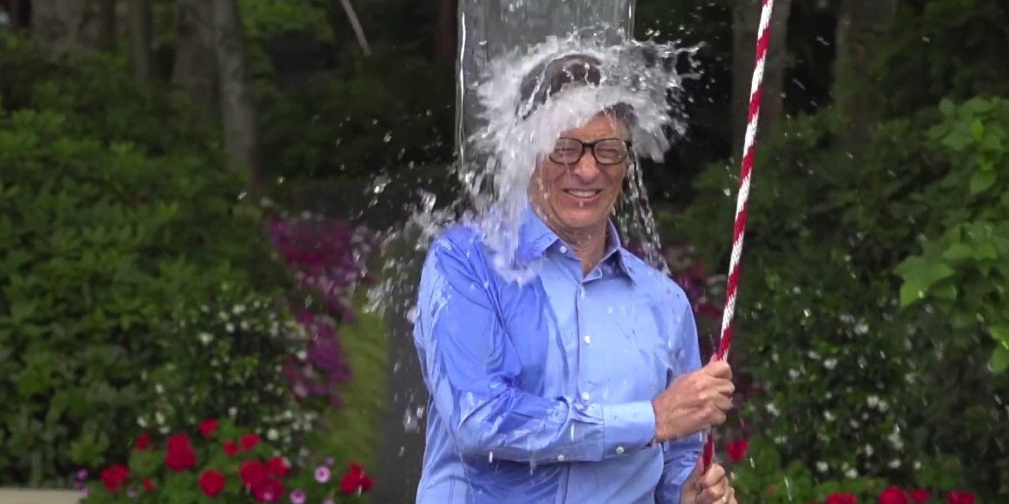 Bill Gates Takes On Als Ice Bucket Challenge As Only He