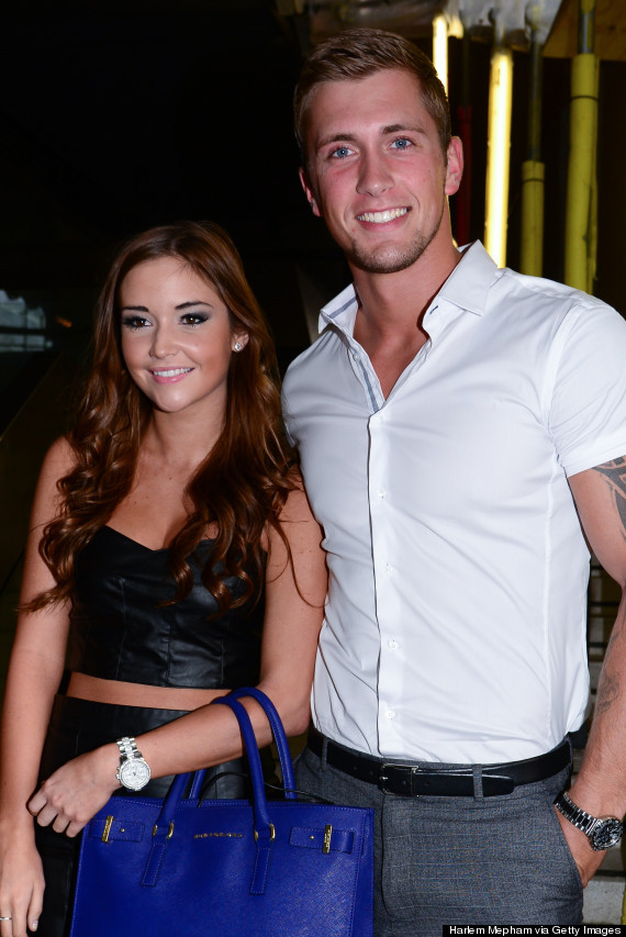 dan from towie dating eastenders star