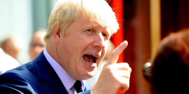 Mayor of London Boris Johnson speaks to the media in central London, during the launch of the Metropolitan Police Impact Zone Team for London's West End.